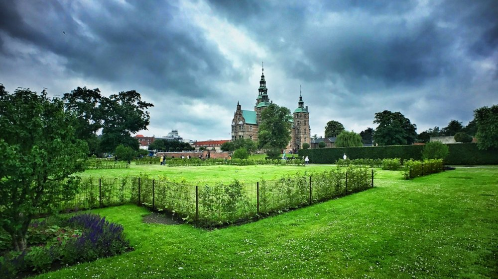 Kongens Have (The King's Garden) and Rosenborg Castle