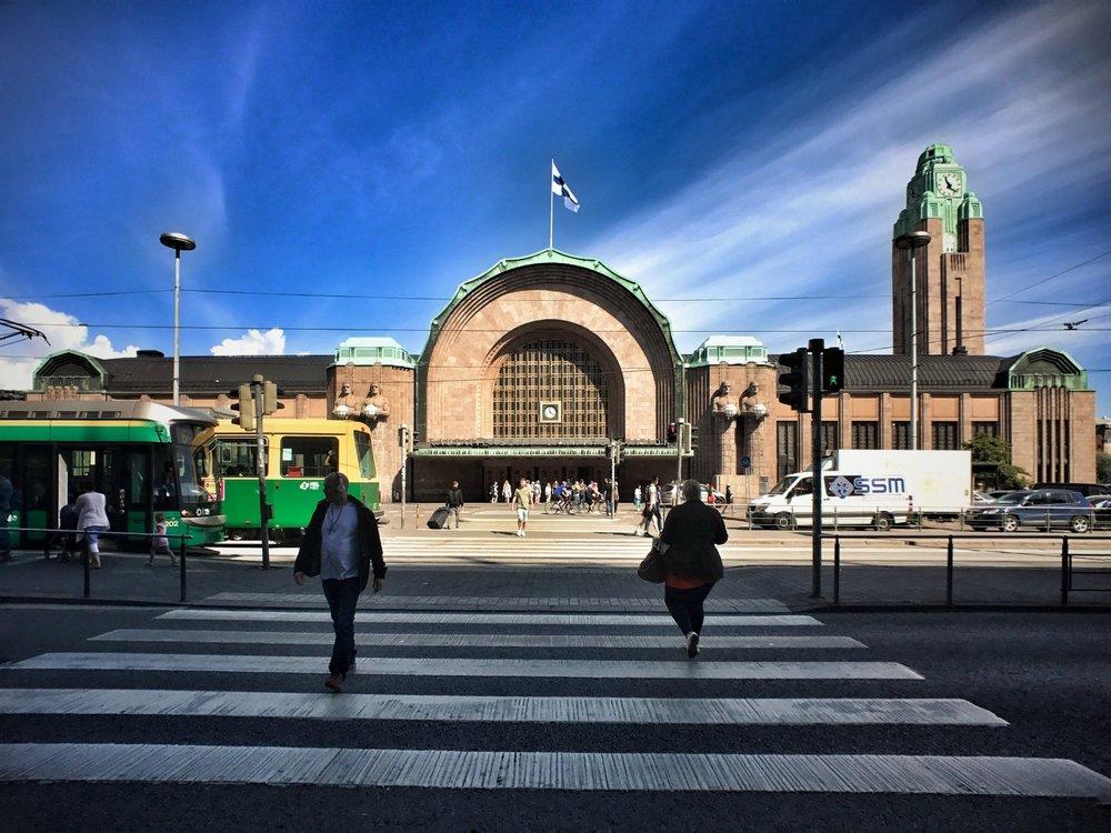The Helsinki Central Station (Helsingin päärautatieasema)