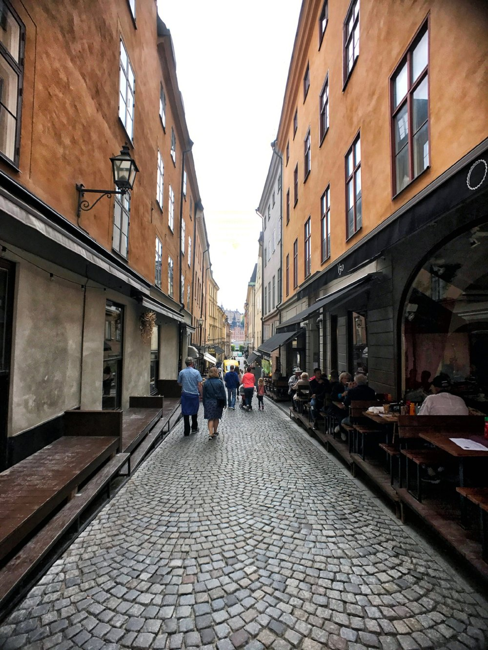 A side street in Gamla Stan