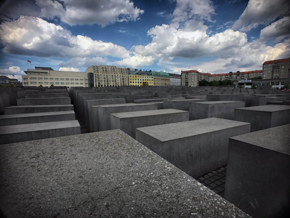 The stunning  Memorial to the Murdered Jews of Europe , designed by architect  Peter Eisenman