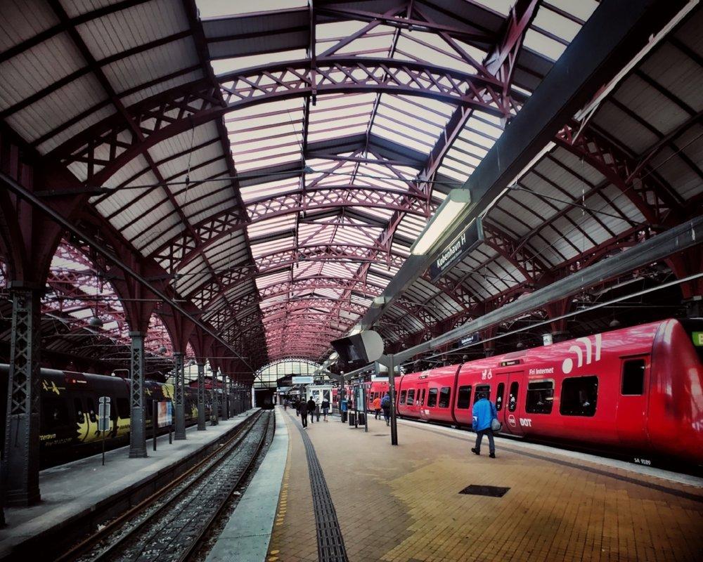 Copenhagen Central Station (Københavns Hovedbanegård)
