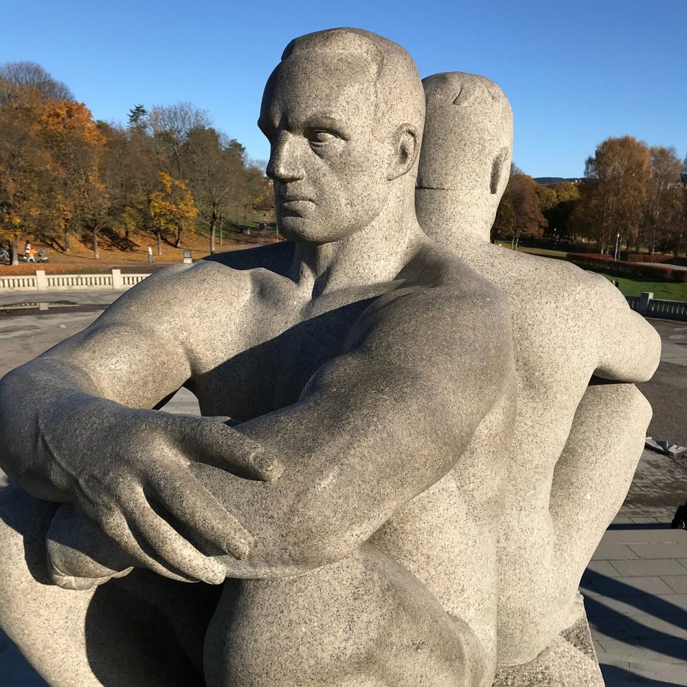 Figures in the Vigeland installation