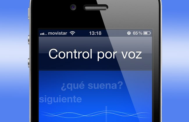 Manual del control por voz del iPhone