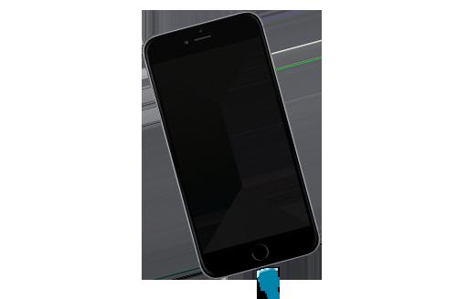 Cambiar puerto de carga de iPhone 6 plus en Sevilla