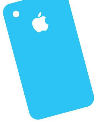 Reparar cristal trasero iPhone 4S en Sevilla