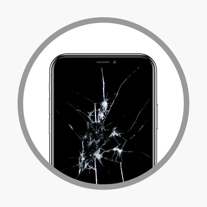 ¿CRISTAL DAÑADO? - Si el cristal se ha roto, aunque funcionen el táctil y el LCD