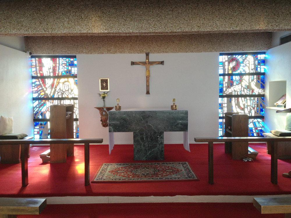 The Chapel of the Resurrection at St Martin