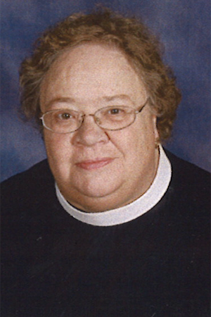the reverend canon nancy platt, associate priest
