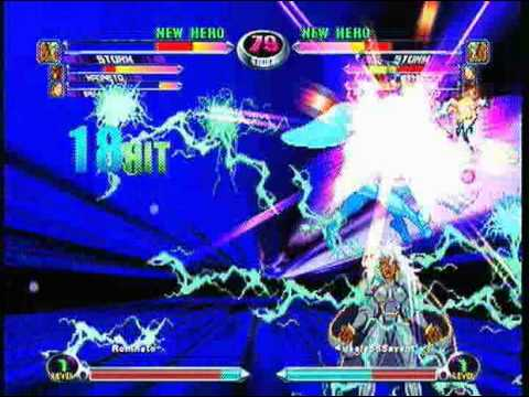 In MvC2, Storm was considered a top tier character, nowadays, she's just about average.
