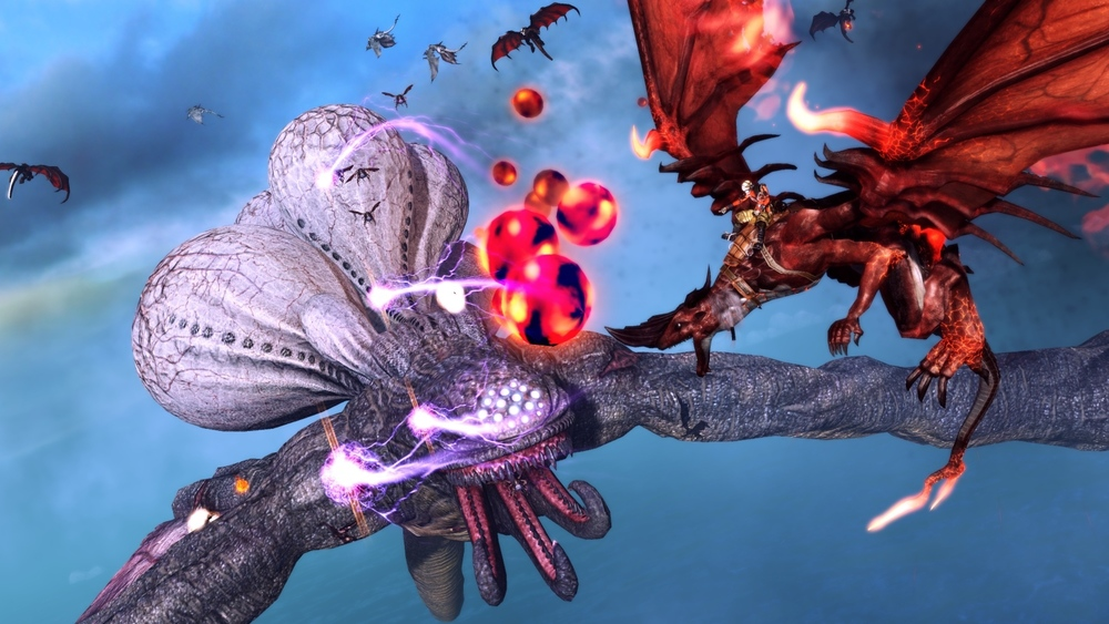 Like Panzer Dragoon, but with even  more  dragons.