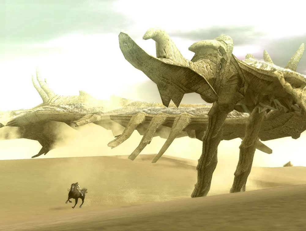 To be fair, the Colossi themselves are pretty sweet too.