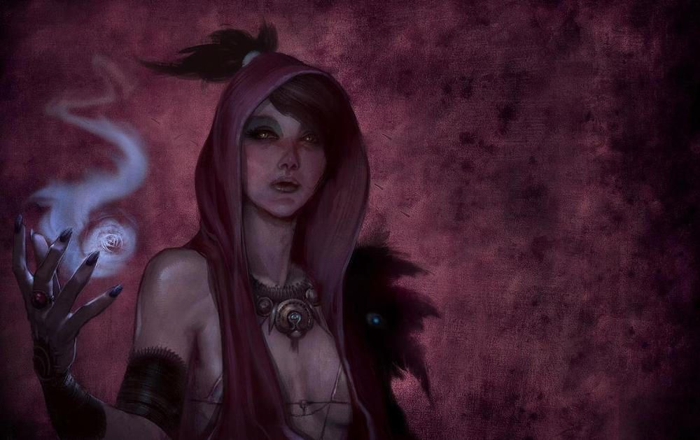 Dragon Age Concept Art for Morrigan