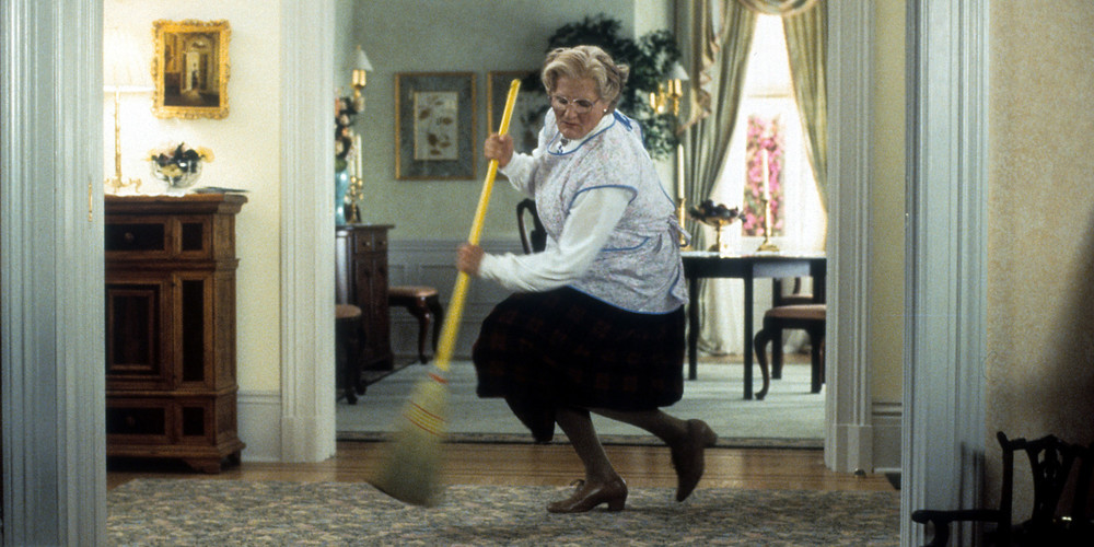 Like, just make that broom a trident and we are halfway to pig monster.