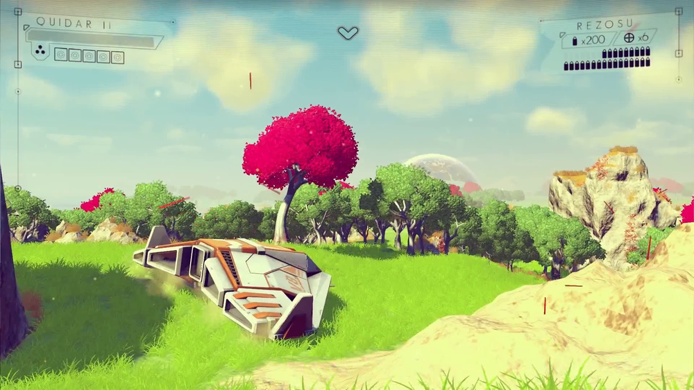 No Man's Sky looks unbelievably good, and is made by 4 people. EAT IT UBISOFT.