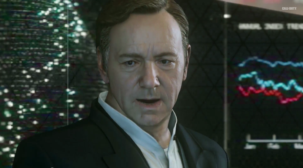 Fortunately, Kevin Spacey's head stayed firmly on his body.