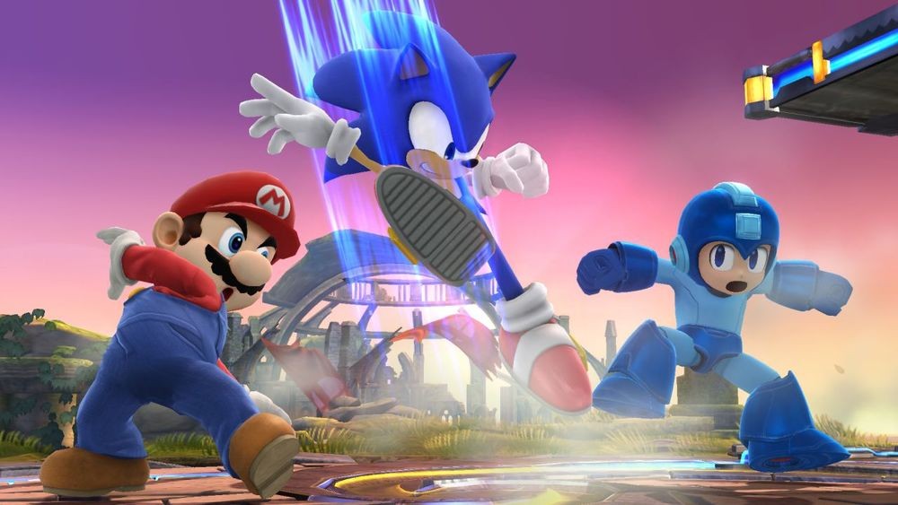 It's like Rock-Paper-Scissors. Mega Man beats Mario who bears Sonic who beats Mega Man until both are irrelevant.
