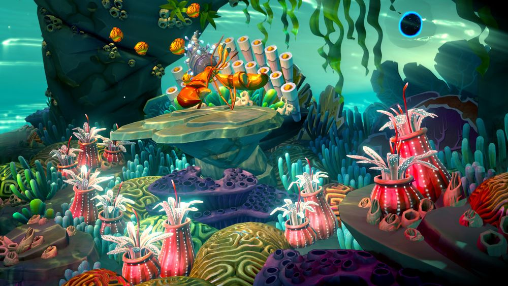 Harmonix's upcoming Fantasia game may be a glance into their trippy, VR future
