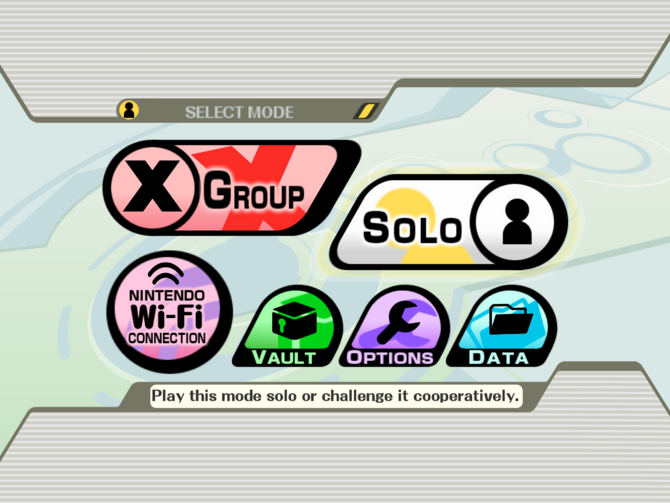 Smash Bros. Brawl Menu
