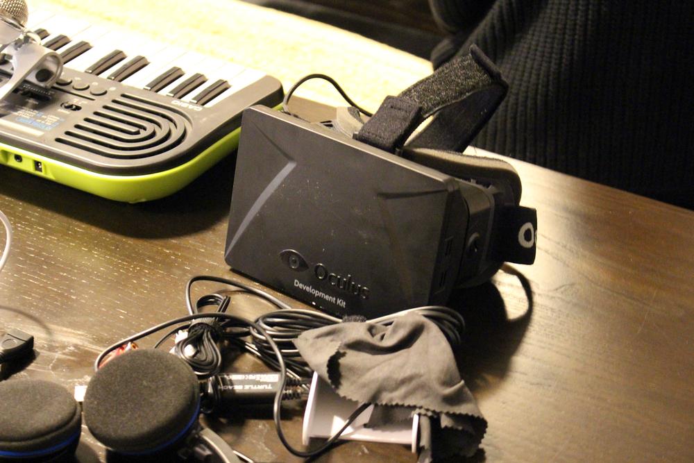 The Oculus Rift Developer Kit (DK) One