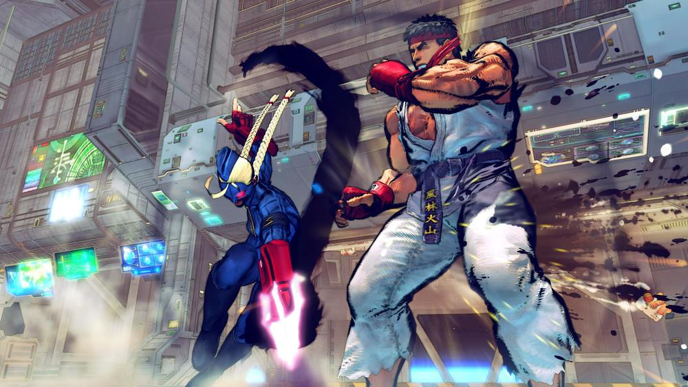 Getting hit by a full focus? That's just bad form, Ryu.