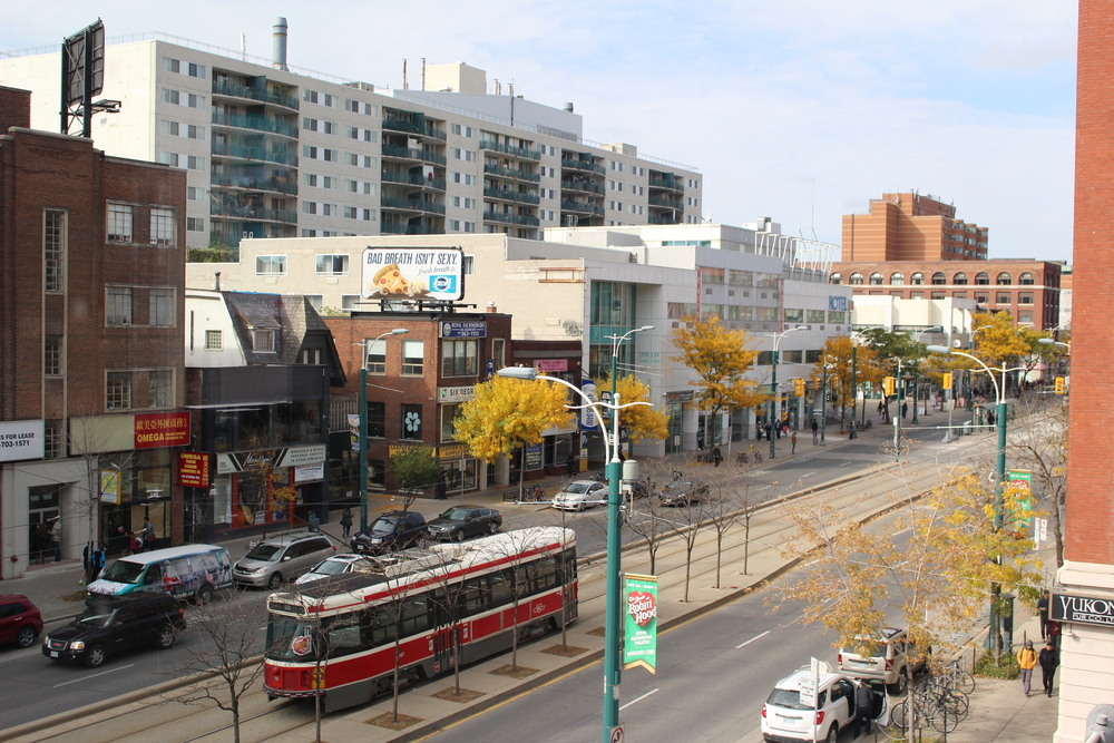 In case you didn't know what Toronto's Chinatown looks like. We have streetcars too San Fransisco