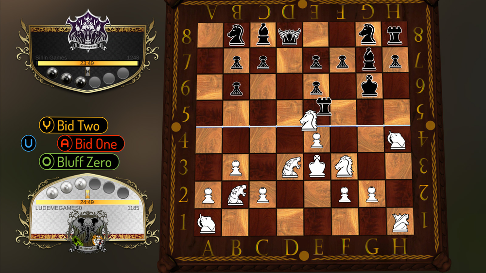 David Sirlin, a fighting game expert, took the universality of Chess as an advantage so he could play with the basic mechanics for Chess 2, but maintained the non-literalism of the game.