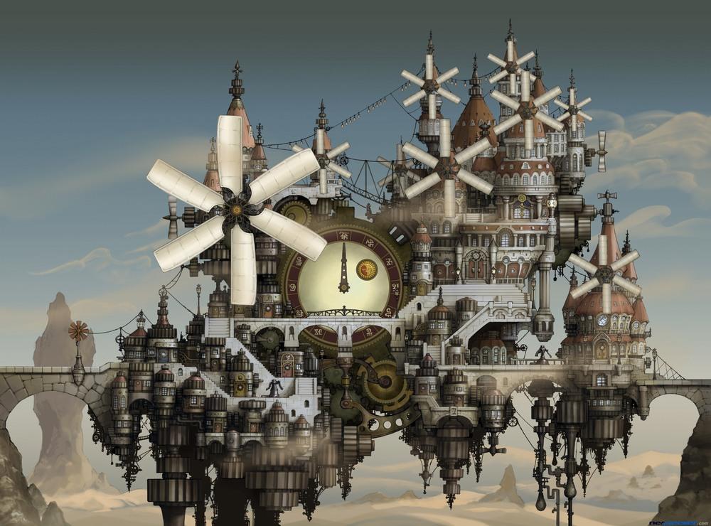 Clocks, windmills, repetition? GET IT?