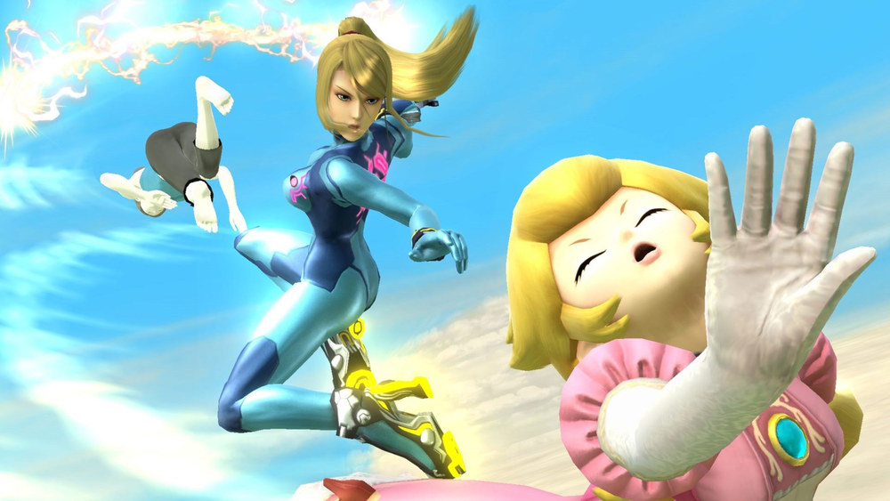 Zero Suit Samus's rocket heels are problematic yes, but rocket boost kicks might be the sweetest thing in the game.
