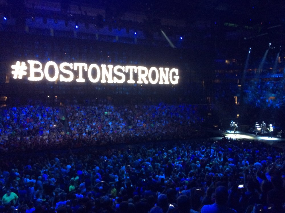 U2 live in Boston 2015