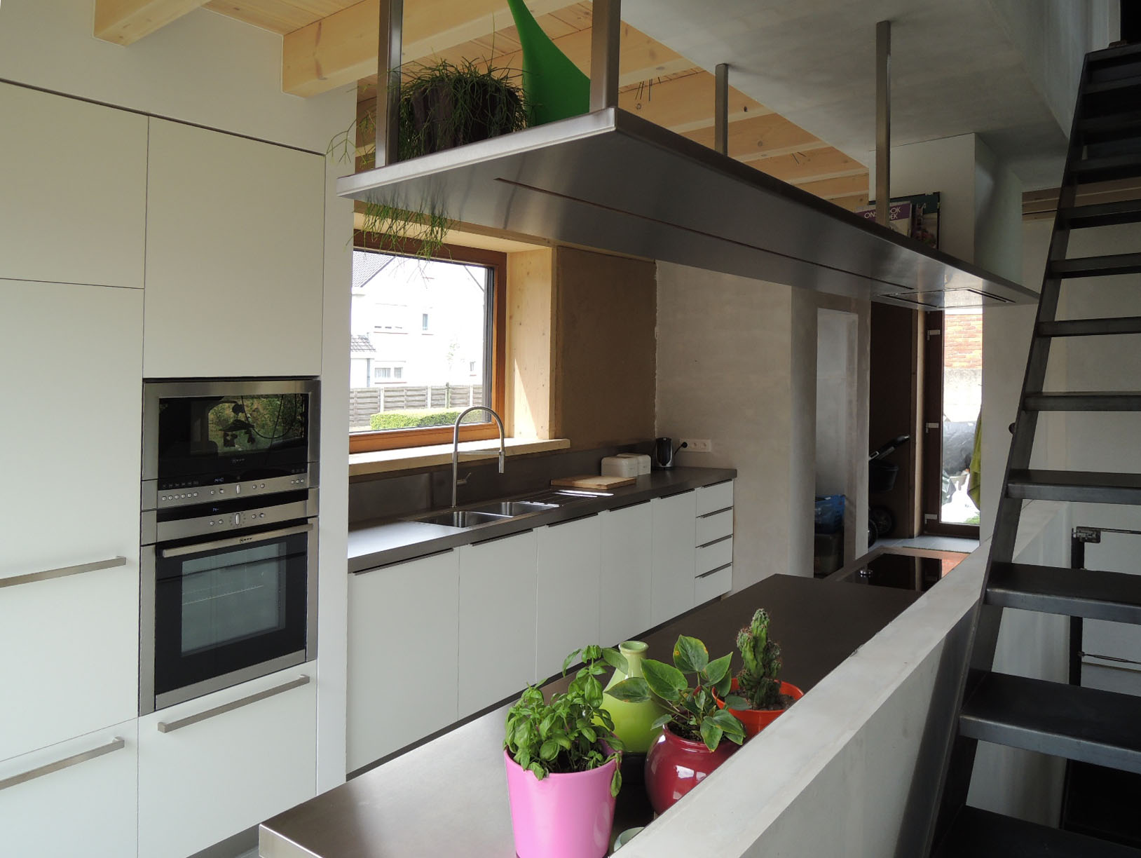 Keuken industriÃ«le look — indemaak