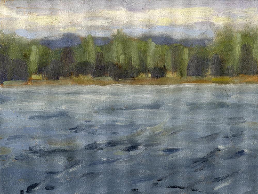 Lake in Mora