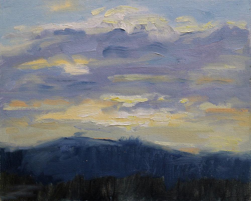 Dalarna Sunset Study