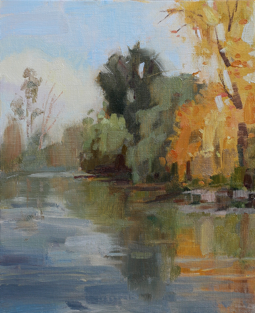 Plein Air, Portland, OR  Oil on Canvas Board  8x10   Available. Price upon request.