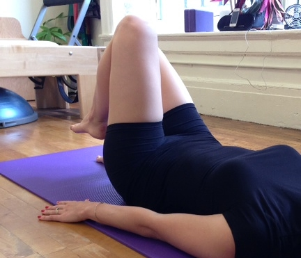 Make sure to utilize the first and second half of your exhale to engage your abdominal stability and scoop.
