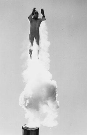 Hugo Zacchini,Cannonball Act,Photographer Unknown