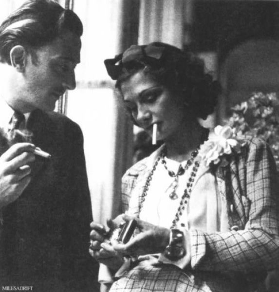 Dalí and Chanel