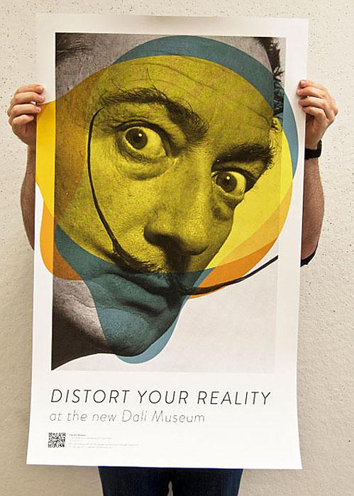 nevver: Distort you reality - Dali Museum, Aqua-Velvet