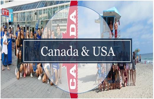 USA & Canadà: - Sortides en grups reduïts, tot inclòs. Allotjament en residència o família.