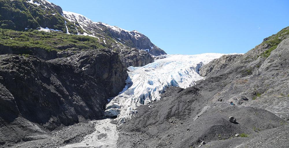 Exit glacier near seward