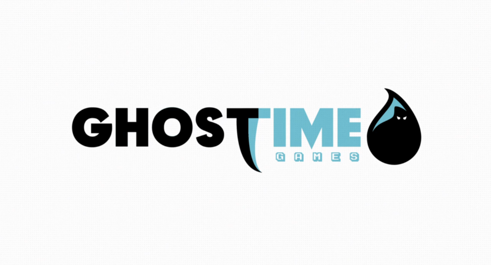 Ghost Time Games // Logo Design + Animation