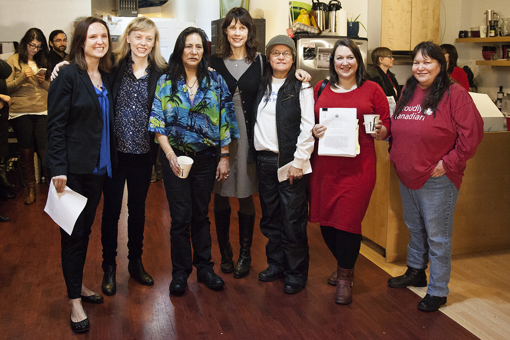 Dolores and the team at Pivot HQ after the decision came down positive on December 20, 2013
