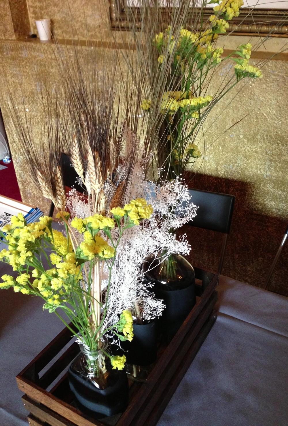 Masculine Floral Arrangement