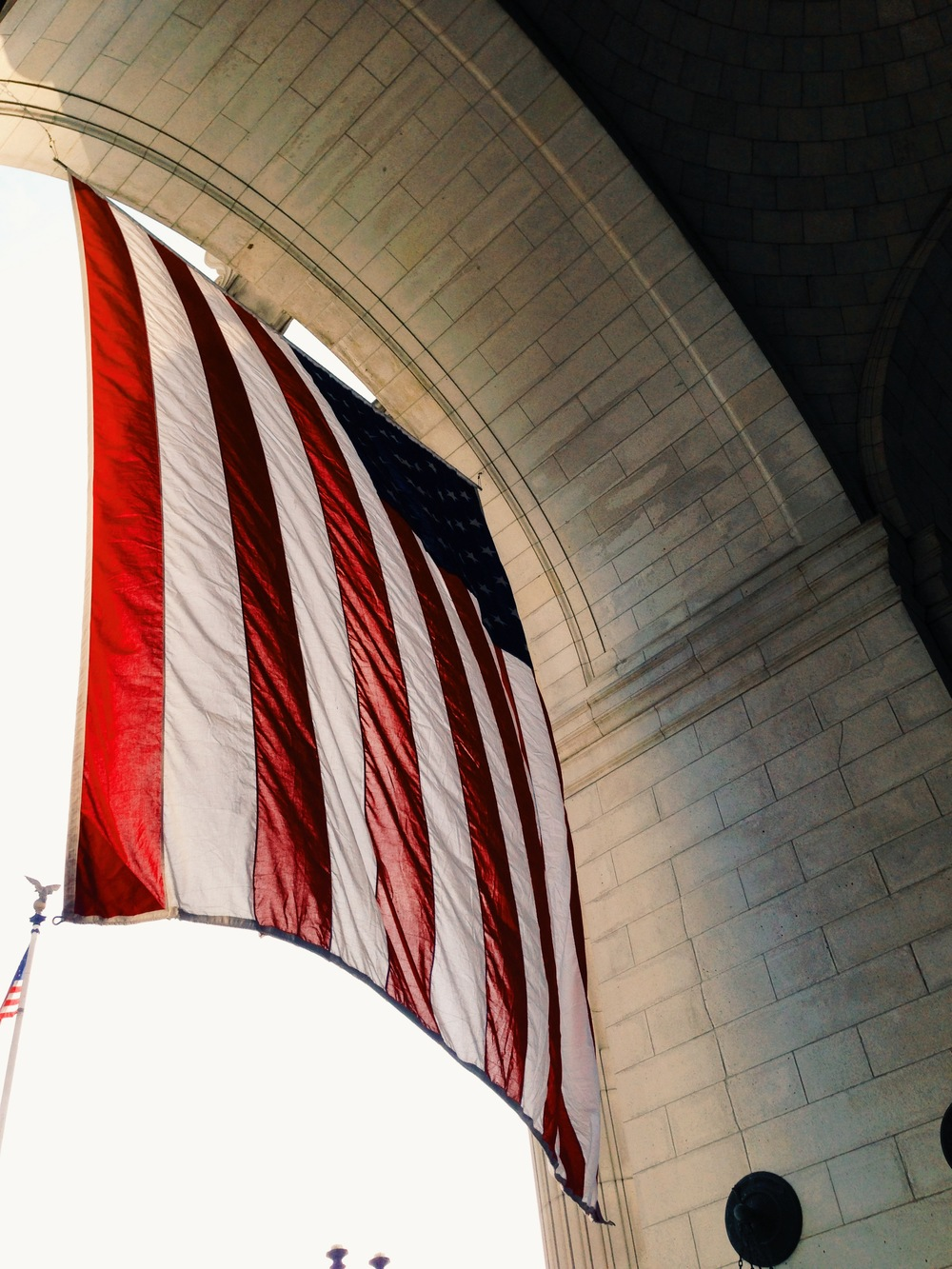American Flag - Union Station