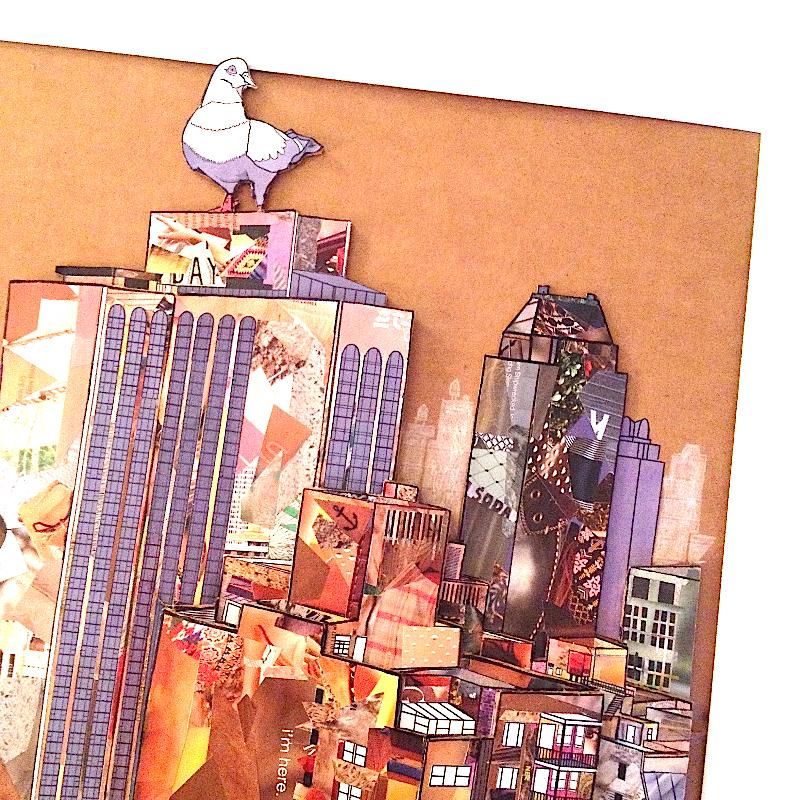 Jay Yen Cardboard Relief