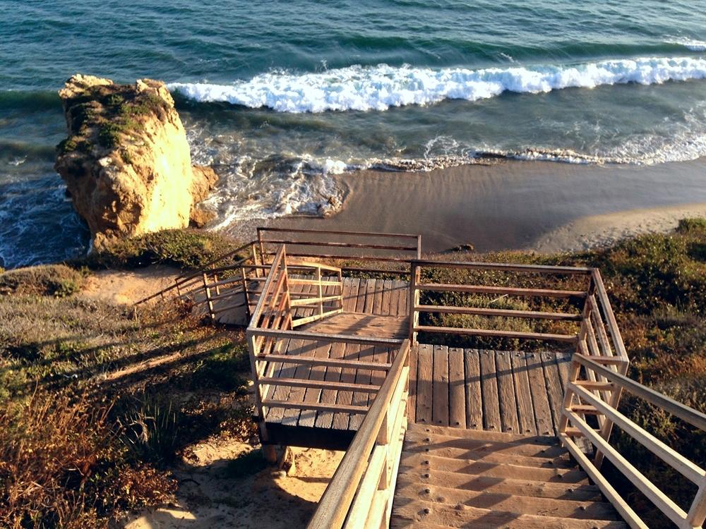 El Matador Beach Staircase