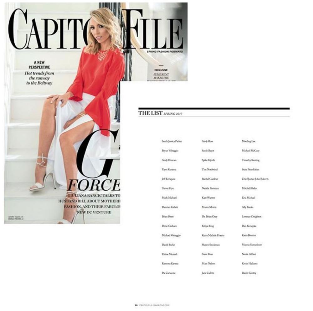 Spring 2017, Capitol File Magazine