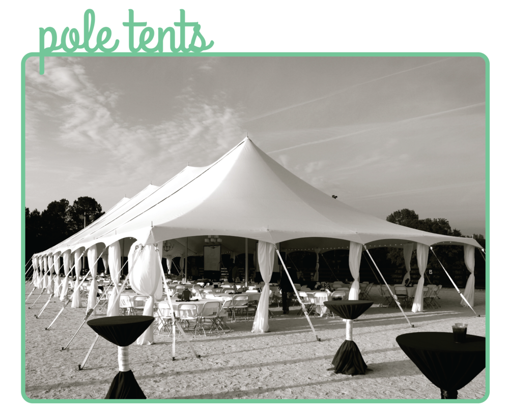 Click to view all Pole Tent options