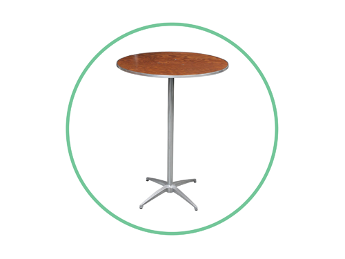 "30"" High Boy Cocktail Tables"