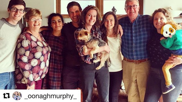 #Repost @_oonaghmurphy_ ・・・ Full clan including WAGs and dags today.