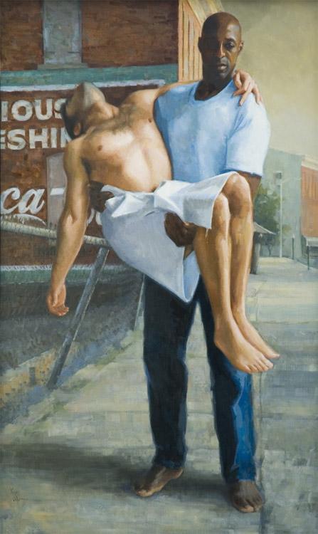 Alain Picard |Pastel Portrait Painting